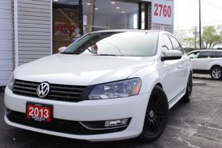 Used 2013 Volkswagen Passat 2.0 TDI Highline Leather, Roof, Camera. VERY cLEAN for sale in North York, ON