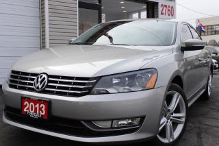 Used 2013 Volkswagen Passat 2.0 TDI Highline Navigation, Camera, Leather, Roof for sale in North York, ON