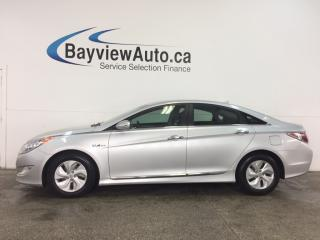 Used 2014 Hyundai Sonata Hybrid - ALLOYS! PUSH BTN START! HTD STS! REV CAM! DUAL CLIMATE! for sale in Belleville, ON