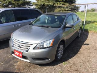 Used 2014 Nissan Sentra 1.8 S for sale in Brantford, ON