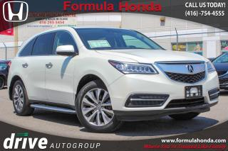Used 2015 Acura MDX Navigation Package ALL WHEEL DRIVE | NAVIGATION | SUNROOF for sale in Scarborough, ON