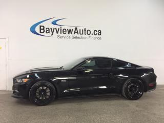 Used 2015 Ford Mustang GT Premium for sale in Belleville, ON