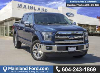 Used 2015 Ford F-150 Lariat *ACCIDENT FREE* for sale in Surrey, BC
