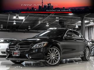 Used 2015 Mercedes-Benz C-Class C400 AMG|DISTRONIC|BURMESTER|DTR+|BLINDSPOT|NAVI|LOADED for sale in North York, ON