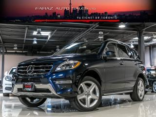 Used 2015 Mercedes-Benz ML 350 AMG|TV/DVD|DISTRONIC|BLINDSPOT|NAVI|360CAM|LOADED|BLUETEC for sale in North York, ON