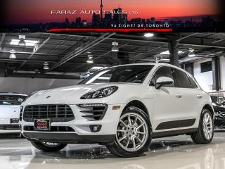 Used 2017 Porsche Macan S|NAVI|LDW|REAR CAM|PANO|SPORT CHRONO for sale in North York, ON