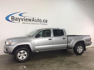 Used 2015 Toyota Tacoma - CREW! AUTO! ALLOYS! REVERSE CAM! BLUETOOTH! for sale in Belleville, ON