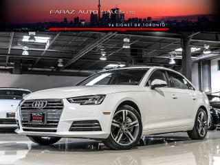 Used 2017 Audi A4 TECHNIK|NAVI|B&O|BLINDSPOT|360CAM for sale in North York, ON