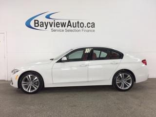 Used 2017 BMW 320 i xDrive - TWIN TURBO! SUNROOF! PUSH BTN STRT! HTD LTHR! NAV! REV CAM! for sale in Belleville, ON