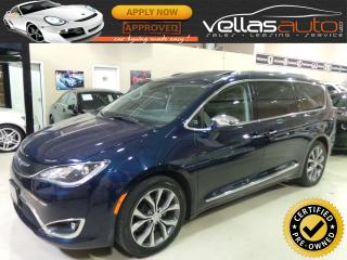 Used 2017 Chrysler Pacifica LIMITED| NAVIGATION| PANO RF| ACTIVE BRAKING for sale in Vaughan, ON