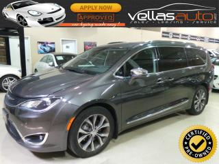 Used 2017 Chrysler Pacifica LIMITED| NAVIGATION| DVD SYST| ACTIVE BRAKING for sale in Vaughan, ON