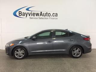 Used 2017 Hyundai Elantra GL - ALLOYS! HTD/VENTILATED SEATS! REV CAM! BSD! for sale in Belleville, ON