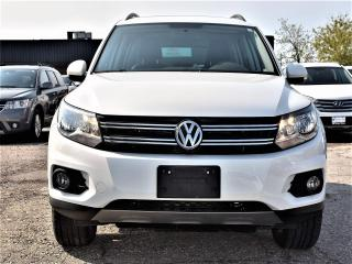 Used 2015 Volkswagen Tiguan Comfortline LEATHER,SUNROOF, ONLY 12,000 KMS !!! for sale in Concord, ON