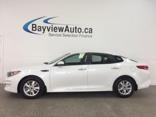 Used 2017 Kia Optima LX - ALLOYS! HEATED SEATS! A/C! BLUETOOTH! for sale in Belleville, ON
