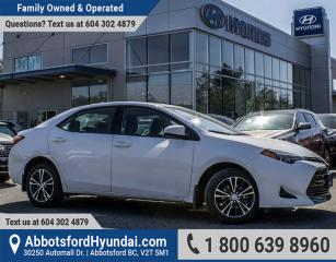 Used 2017 Toyota Corolla LE ACCIDENT FREE & BC OWNED for sale in Abbotsford, BC