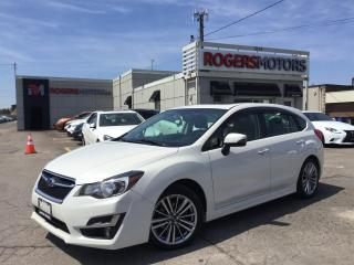 Used 2015 Subaru Impreza LTD - HATCH - NAVI - LEATHER - SUNROOF for sale in Oakville, ON