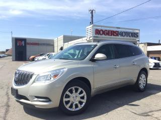 Used 2015 Buick Enclave AWD - NAVI - DVD - LEATHER - PANO ROOF for sale in Oakville, ON