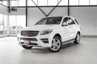 Used 2015 Mercedes-Benz ML-Class ML400 4MATIC for sale in Langley, BC