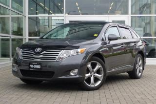Used 2012 Toyota Venza V6 AWD 6A Sunroof! Leather! for sale in Vancouver, BC