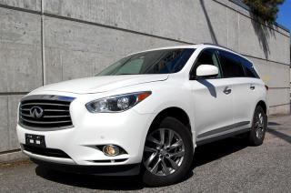 Used 2013 Infiniti JX35 CVT Premium Package, Local Fully Loaded for sale in Vancouver, BC