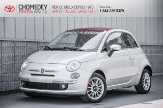 Used 2012 Fiat 500 C Lounge for sale in Laval, QC