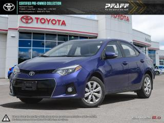 Used 2014 Toyota Corolla 4-door Sedan S 6M LOADED BLUETOOTH AND MORE for sale in Mono, ON