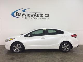 Used 2018 Kia Forte LX - ALLOYS! A/C! REVERSE CAM! WIFI! CRUISE! for sale in Belleville, ON