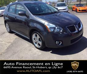 Used 2009 Pontiac Vibe **AWD/AUTOMATIQUE/TOIT/AIR** for sale in Saint-hubert, QC
