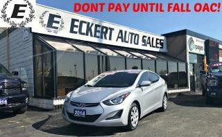 Used 2014 Hyundai Elantra SE MANUAL WITH BLUETOOTH for sale in Barrie, ON