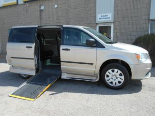Used 2016 Dodge Grand Caravan CVP-Wheelchair Accessible Side Entry Conversion for sale in London, ON