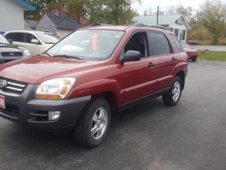 Used 2008 Kia Sportage FWD 147K SAFETIED LX for sale in Madoc, ON