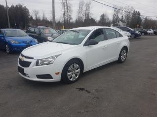 Used 2012 Chevrolet Cruze SAFETIED 146K WE FINANCE LS+ w/1SB for sale in Madoc, ON