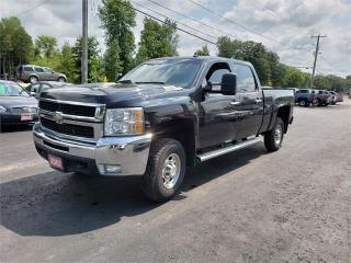 Used 2007 Chevrolet Silverado 2500HD SAFETIED 4X4 6.0L LT for sale in Madoc, ON