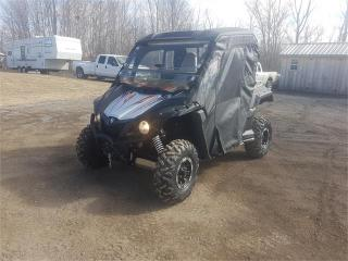 Used 2016 Yamaha wolverine R-SPEC Special Edition for sale in Madoc, ON