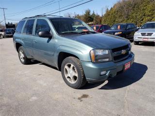 Used 2009 Chevrolet TrailBlazer 4x4 142k Safetied LT1 for sale in Madoc, ON