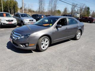 Used 2012 Ford Fusion 4cyl 117k Safetied SE for sale in Madoc, ON