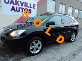 Used 2008 Lexus RX 400h PREMUIM NAVIGATION TOURING DVD WARRANTY INCL for sale in Oakville, ON