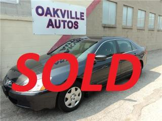 Used 2005 Honda Accord Sdn LX-G LX-G AUTO 4CYL for sale in Oakville, ON
