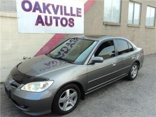 Used 2005 Honda Civic Sdn Si MANUAL for sale in Oakville, ON
