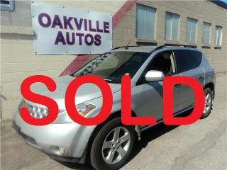 Used 2007 Nissan Murano SL for sale in Oakville, ON