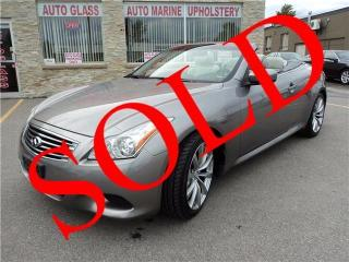 Used 2009 Infiniti G37 Convertible Sport for sale in Oakville, ON
