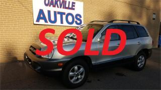 Used 2006 Hyundai Santa Fe GL AUTOMATIC V6 FWD for sale in Oakville, ON