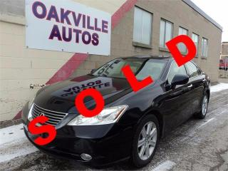 Used 2007 Lexus ES 350 ES 350 PREMIUM PACKAGE HEATED COOLED SEATS SAFETY for sale in Oakville, ON