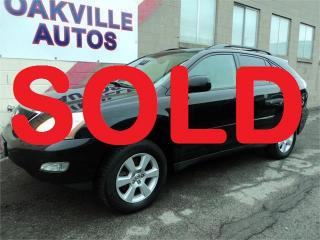 Used 2004 Lexus RX 330 LEATHER SUNROOF HTD SEATS SAFETY INCL WARRANTY for sale in Oakville, ON
