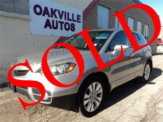 Used 2011 Acura RDX Tech Pkg NAVIGATION SAFETY WARRANTY INCL for sale in Oakville, ON