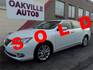 Used 2012 Lexus ES 350 ES350 LEATHER SUNROOF HEATED SEATS SAFETY INCL for sale in Oakville, ON