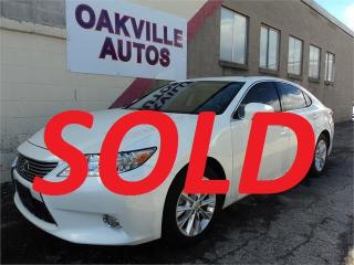 Used 2013 Lexus ES 300 h ES300H NAVIGATION PREMIUM LUXURY SAFETY INCL for sale in Oakville, ON