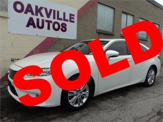 Used 2013 Lexus ES 350 BALANCE OF FACTORY WARRANTY NAVIGATION LOW KM PREM for sale in Oakville, ON