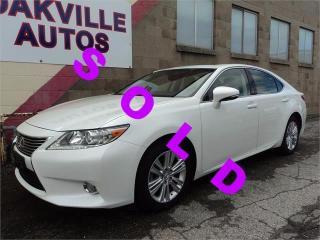 Used 2015 Lexus ES 350 PREMIUM PACKAGE CAMERA WARRANTY for sale in Oakville, ON