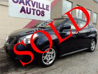 Used 2009 Pontiac Vibe 2.4L AUTO FWD for sale in Oakville, ON